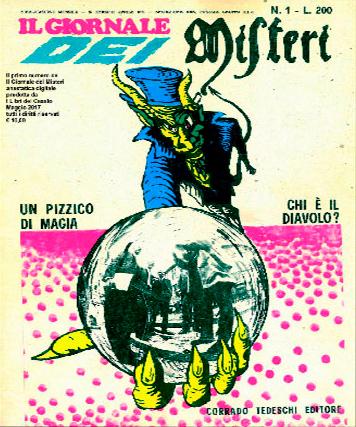 cover del numero 1 del Giornale dei Misteri