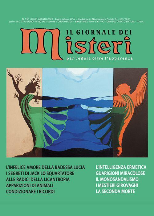 Il Giornale dei Misteri n. 550 Luglio – Agosto 2020
