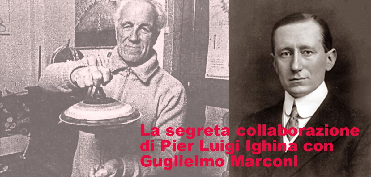 P.L.Ighina e Guglielmo Marconi